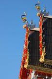 Telhado da cisne do elefante Imagem de Stock Royalty Free