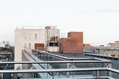 Telhado da construção Foto de Stock