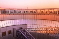 Telhado da construção do céu de Umeda Fotografia de Stock
