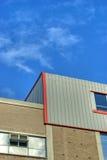 Telhado da fábrica Fotografia de Stock
