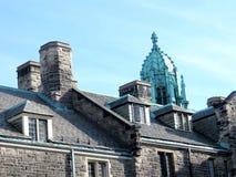 Telhado 2016 da faculdade da trindade da universidade de Toronto Foto de Stock Royalty Free