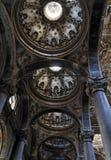 Telhado da igreja de San Giuseppe Fotografia de Stock