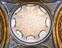 Telhado da igreja em Lisboa, Portugal Foto de Stock Royalty Free