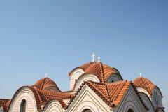 Telhado da igreja ortodoxa Imagem de Stock