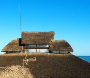 Telhado da palha Fotografia de Stock