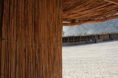 Telhado da palha Imagem de Stock