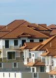 Telhado da propriedade dos bens imobiliários. Fotografia de Stock