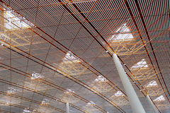 Telhado da sala de espera do aeroporto imagens de stock royalty free