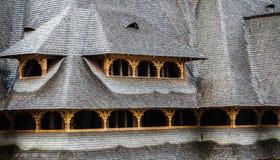 Telhado da telha Foto de Stock Royalty Free