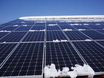 Telhado das células solares Imagem de Stock