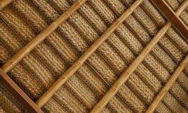 Telhado de bambu Imagem de Stock