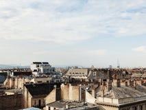 Telhado de Budapest Foto de Stock Royalty Free