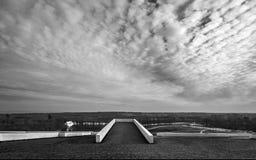 Telhado de Dinamarca Aarhus do museu de Moesgaard Fotos de Stock Royalty Free