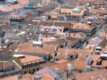 Telhado de Lisboa em Portugal Imagens de Stock Royalty Free