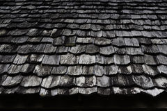 Telhado de madeira Fotografia de Stock Royalty Free
