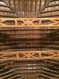 Telhado de madeira Fotos de Stock Royalty Free