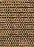Telhado de madeira da telha Foto de Stock Royalty Free