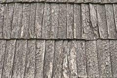Telhado de madeira da telha Imagens de Stock