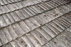 Telhado de madeira do lath fotos de stock