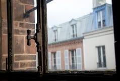 Telhado de Paris Foto de Stock Royalty Free