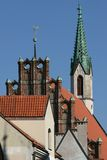 Telhado de Riga foto de stock