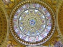 Telhado de St Stephens Cathedral Imagens de Stock