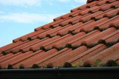 Telhado de telha Fotografia de Stock Royalty Free
