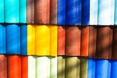 Telhado de telha. imagens de stock