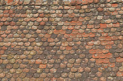 Telhado de telha Fotos de Stock