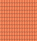 Telhado de telha Imagem de Stock Royalty Free