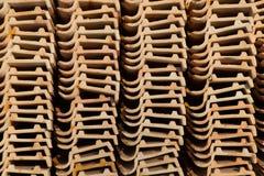 Telhado de telha Fotografia de Stock
