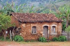Telhado de telha da coxa Fotos de Stock