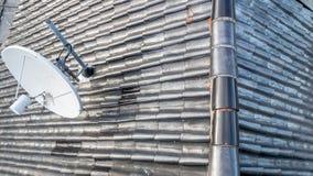 Telhado de telha de cima de Foto de Stock