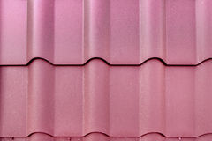 Telhado de telha do metal Fotos de Stock Royalty Free