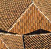 Telhado de telha velho. Fotografia de Stock Royalty Free