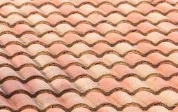 Telhado de telha vermelha Imagem de Stock Royalty Free