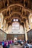 Telhado de Tudor Great Hall em Hampton Court Imagem de Stock