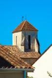 Telhado de uma casa tradicional francesa Imagem de Stock