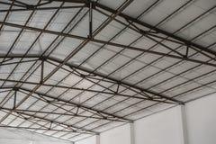 Telhado de uma fábrica Foto de Stock