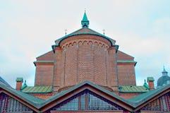 Telhado de uma igreja Fotografia de Stock Royalty Free