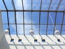 Telhado de vidro Imagens de Stock Royalty Free