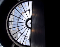 Telhado de vidro Fotos de Stock