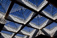 Telhado de vidro Imagens de Stock
