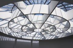 Telhado de vidro foto de stock royalty free
