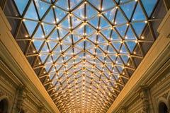 Telhado de vidro Fotografia de Stock Royalty Free