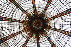 Telhado de vidro Fotografia de Stock