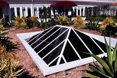 Telhado de vidro anca Imagem de Stock