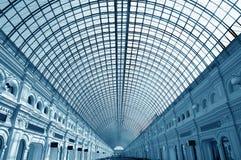 Telhado de vidro do edifício Imagem de Stock Royalty Free