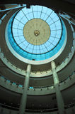 Telhado de vidro moderno da construção Imagem de Stock Royalty Free