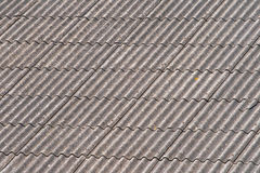 Telhado do asbesto Fotografia de Stock Royalty Free